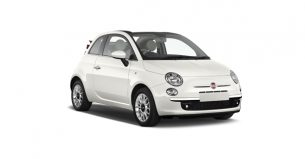 Fiat 500C coche Falcorent Rent a car en Mallorca