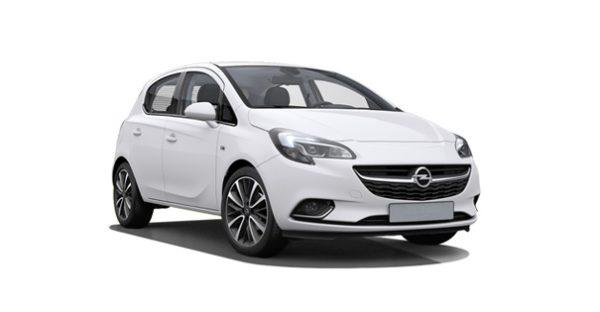 Opel Corsa blanco flota Falco