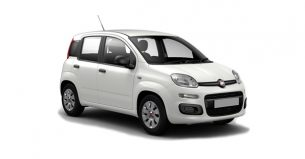 Fiat Panda blanco
