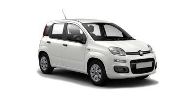Fiat Panda blanco flota Rent a car en Mallorca